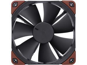 Noctua NF-F12 iPPC-2000, Heavy Duty Cooling Fan, 3-Pin, 2000 RPM (120mm, Black)