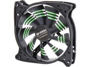 Sharkoon 000SKBG 120mm Shark Blade 120mm Cooling Case Fan – Green