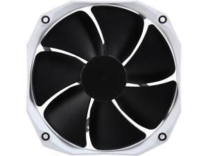 Phanteks 140mm CPU Cooler Fan Upgrade, PWM, 1600 RPM High-Static Pressire, PH-F140HP_BK2 White/Black