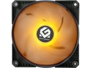 MetallicGear Skiron RGB MG-F120PRGB_BK 120mm RGB LED Case Fan