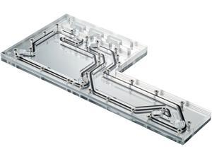 Phanteks D140 Distribution Plate. Mirror Acrylic Backplate, Digital-RGB LED