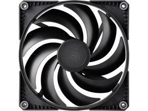Phanteks SK140 PWM FAN - 140mm Fan, High Airflow Nine-blade Design, Rubber Dampening Washers - Black