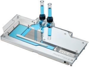 Phanteks Glacier G30 STRIX for ASUS Strix RTX 3090/3080, Nickel-Plated, Acrylic, Aluminum Cover Plate, Digital RGB, Full Water Block - Chrome