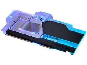 Phanteks Glacier G6000 STRIX for ASUS ROG Strix & TUF RX 6800/6900, Nickel-Plated, Acrylic, Aluminum Cover plate, Digital-RGB, Full water block - Black