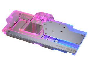Phanteks Glacier G6000 STRIX for ASUS ROG Strix & TUF RX 6800/6900, Nickel-Plated, Acrylic, Aluminum Cover plate, Digital-RGB, Full-cover water block with backplate - Chrome