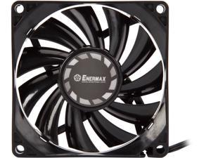 Athena Power FANC-TB815 8015 Slim Fan with Twister Bearing Technology Long Lifetime & Low Noise. And Turbine Blades for High-pressure Airflow.