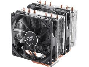 DEEPCOOL NEPTWIN V2-CPU Cooler Dual 120mm LED PWM Fans Twin-tower Polished Copper Base Metal Mounting Kit Support LGA2066/AM4