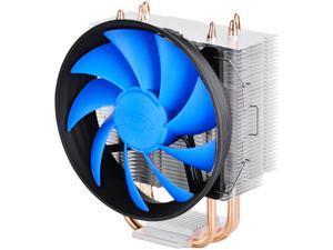 DEEPCOOL GAMMAXX 300-CPU Cooler 3 Direct Contact Heat Pipes 120mm PWM Silent Fan (AM4 Compatible)