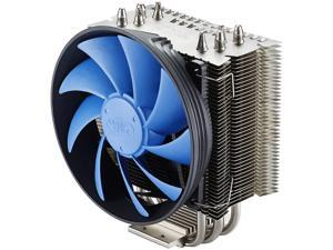 DEEPCOOL GAMMAXX S40-CPU Cooler 4 Heatpipes 120mm PWM Fan Double Airflow Channel Technology (AM4 Compatible)