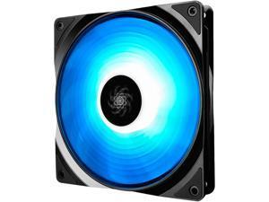 DEEPCOOL RF 140 Ultra Quiet Intelligent PWM Fan 6 High Brightness Controllable RGB LED Lights