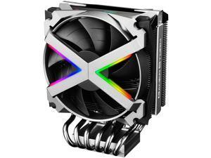DEEPCOOL Gamer Storm Fryzen TR4 Addressable RGB Motherboard Control 6 Boot-shaped Heatpipes Metal Frame Fan 16.7 M True Color RGB Supports AMD TR4/AM4
