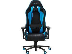 EWin Gaming and Office Chair CPB Champion Series Ergonomic Chair With Pillows (Black and Blue)