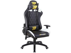 BraZen Phantom Elite PC Gaming Chair - White