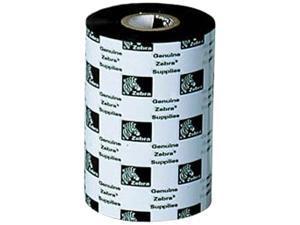 Zebra Wax Resin Ribbon 2.52inx242ft 5586 Premium 0.5in core