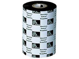 Zebra Wax Resin Ribbon 4.33inx242ft 5586 Premium 0.5in core