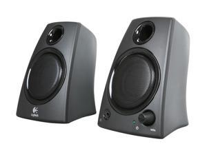 Logitech Z130 5 Watts 2.0 Speakers (980-000417) - Black