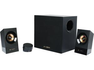 Logitech Recertified 980-001053 Z533 Multimedia Speakers (3-Piece) - Black