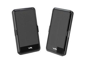 Cyber Acoustics CA-2988 2.0 USB Powered Speaker Portable Design