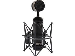 Blue Microphones Spark SL 0137 Microphone - Large-diaphragm Studio Condenser Microphone with Shockmount and Storage Box - Blackout