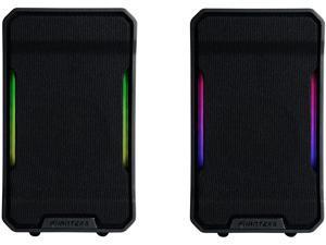 Phanteks Evolv Sound Mini, Compact, Gaming Speaker, Digital-RGB Lighting, Black.