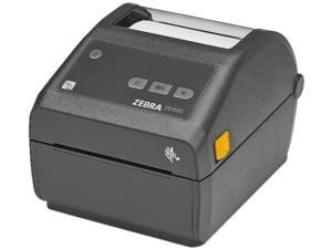 "Zebra ZD420d 4"" Direct Thermal Desktop Label Printer, 300 dpi, USB, USB Host, 802.11, Bluetooth USA/Canada, Modular Connectivity Slot, Standard EZPL - ZD42043-D01W01EZ"