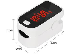 Fingertip Oximeter Pulse Oximeter Oxygen Saturation Meter SPO2 Reading Blood Pressure Monitor