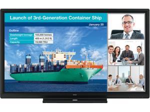 "Sharp PN-C805B 80"" Class Aquos Board Full HD Interactive Display System"