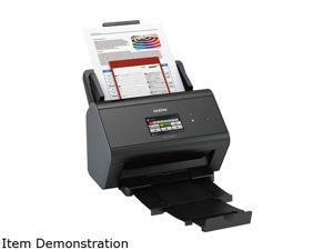 Brother ADS-2800W Duplex 1200 x 1200 DPI Wireless/USB Color Document Scanner
