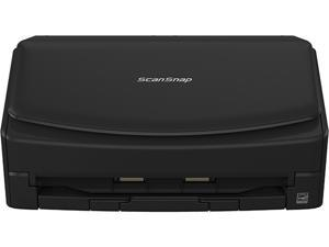 Fujitsu ScanSnap iX1600 Deluxe Color Duplex Document Scanner with Adobe Acrobat DC Pro for Mac and PC, Black