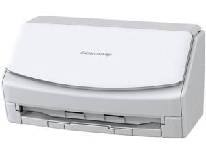 Fujitsu ScanSnap iX1600 Deluxe Color Duplex Document Scanner with Adobe Acrobat DC Pro for Mac and PC, White