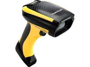 Datalogic PowerScan PD9530 Industrial Handheld Corded 2D Area Imager Barcode Reader, High Performance 5VDC, RS-232/KBW/USB, Yellow/Black - PD9530-HP