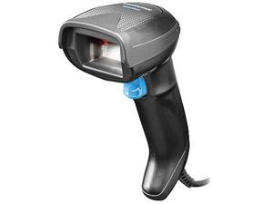 Datalogic Gryphon I GD4520, 2D Mpixel Imager, USB-only, Black (Includes Scanner and All in One Permanent Base)