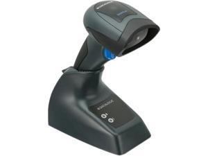 Datalogic QuickScan QBT2430 General Purpose Cordless Handheld 2D Area Imager Barcode Reader with Bluetooth, USB, Kit, Black - QBT2430-BK-BTK1