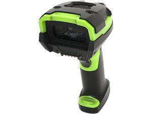 Zebra LI3608-ER Handheld Corded Ultra Rugged Barcode Scanner, Extended Range 1D Linear imager, USB Kit, Industrial Green - LI3608-ER3U4600ZVW