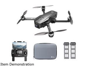 Holy Stone HS105 GPS Drone with 4K UHD EIS Camera 5G WIFI FPV Transmission + Storage Case, Bonus Battery