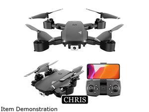 Drone,Foldable Drone with 720P Camera, Quadcopter with Brushless Motor, Auto Return Home, Follow Me, 30 Minutes Flight Time, Long Control Range,UAV aerial photography 720P
