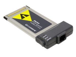 LINKSYS PCM200 10/100Mbps LAN PCMCIA Card