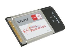 BELKIN F5D7010ttSN-W Wireless Notebook Adapter