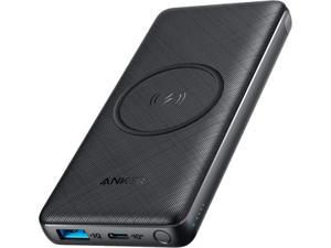 Anker Wireless Power Bank 10,000mAh, PowerCore III 10K Wireless Portable Charger with Qi-Certified 10W Wireless Charging and 18W USB-C Quick Charge for iPhone X, 11, 11 Pro, iPad, AirPods, and More