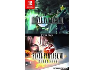 Final Fantasy VII & VIII Remastered Video Game for Nintendo Switch Region Free