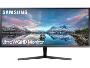 "Samsung LS34J552WQNXZA 34"" Ultra WQHD Monitor with 21:9 Wide Screen"