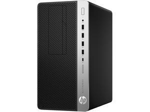 HP EliteDesk 800 G4 5KC98UT#ABC Desktop Computer - Intel Core i5 (8th Gen) i5-8500 3.00 GHz - 16 GB DDR4 SDRAM - 256 GB PCIe NVMe SSD - Windows 10 Pro 64-bit (French) - Tower