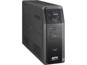 Back UPS PRO BN 1500VA, 10 Outlets, 2 USB Charging Ports, AVR, LCD interface, Canada