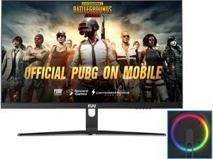 "KUU MH270UG 27"" 4K Gaming Monitors, 3840 x 2160, 1ms Response Time, 1000:1 Contrast Ratio, 1 Billion+ Colors, Ultranarrow Borders Display, 1 x Display Port, 3 x HDMI, Tilt, VESA Compatible"