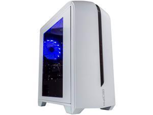 Periphio Portal Gaming PC Desktop Computer Tower, Intel Quad Core i5 3.2GHz, 8GB RAM, 128GB SSD + 500GB 7200 RPM HDD, Windows 10, AMD Radeon RX570 4GB GDDR5, HDMI, Wi-Fi