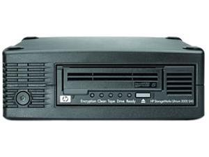 HP EH958B#ABA Black 3TB External SAS 6Gb/s Interface LTO-5 Ultrium 3000 Tape Drive