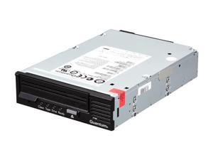 Quantum TC-L42AN-EY-B Black 1.6TB Internal 3GB/S SAS Interface LTO Ultrium 4 Tape Drive, Half Height, Model B, Internal Kit
