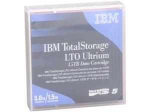 IBM 46X1290 1.5/3.0TB LTO Ultrium 5 1.5 TB Data Cartridge 1 Pack
