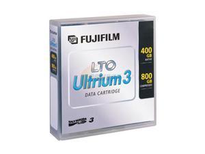 FUJIFILM 15539393 400/800GB LTO Ultrium 3 Data Media 1 Pack