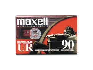 maxell 108510 UR Type I Audio Cassette 1 Pack